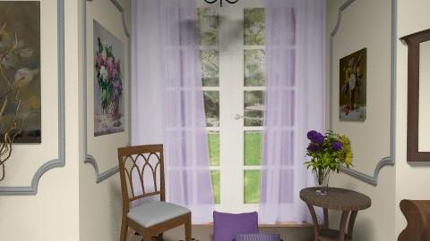 Purple  - Classic - Bedroom  - by milyca8