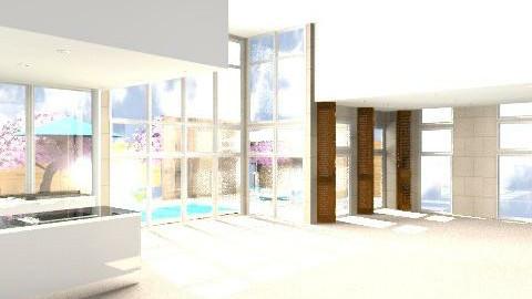 Living Area & Patio 1 - Modern - Garden  - by edison_nunes