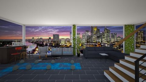 city apartment - Living room - by dia17a