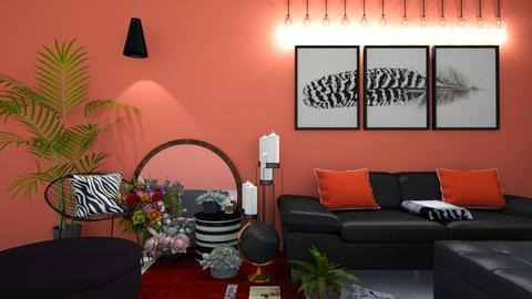 boho - Living room  - by laurendesigns20