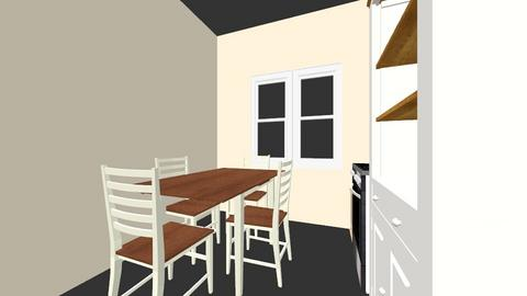 cocina - Kitchen  - by kriverabulnes