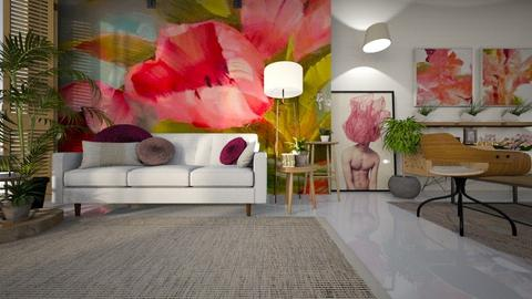 flor - Living room - by ana111