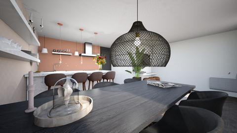 Jacob v Lennepkade - Living room  - by BMOTAVENUE