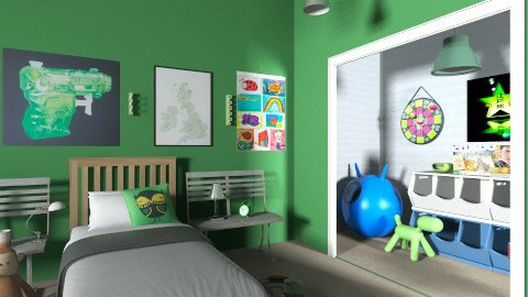 ot - Kids room  - by ok sosa