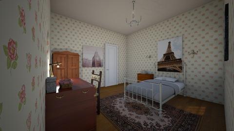 Dream Bedroom - Country - Bedroom  - by kittytarg