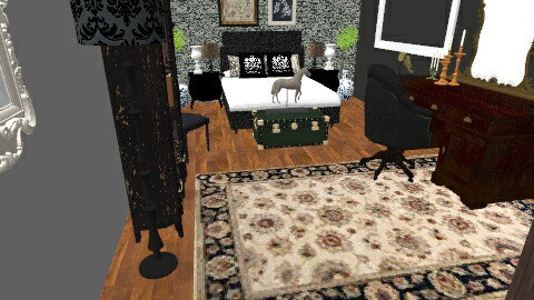 bedroom  - Vintage - Bedroom  - by Adam OCarroll