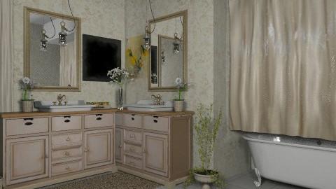 q - Vintage - Bathroom  - by sarahl