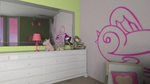 Matliy Nurseryj - Eclectic - Kids room  - by NikkiN95