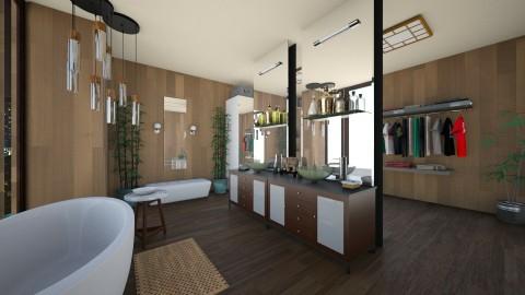 luxury bathroom shot 2 - Modern - Bathroom  - by tappatron