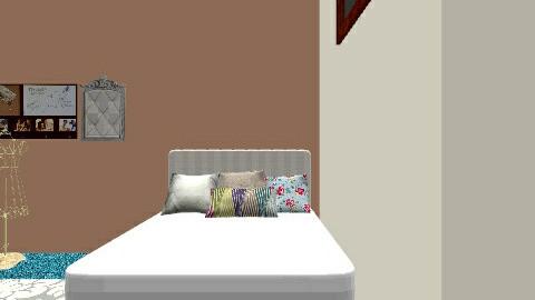 My bedroom  - Vintage - Bedroom  - by vingtagebird