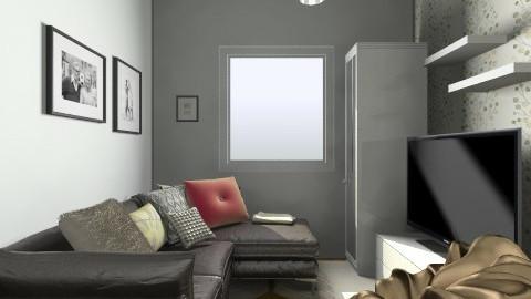 HisBedroom2 - Bedroom - by DoraL