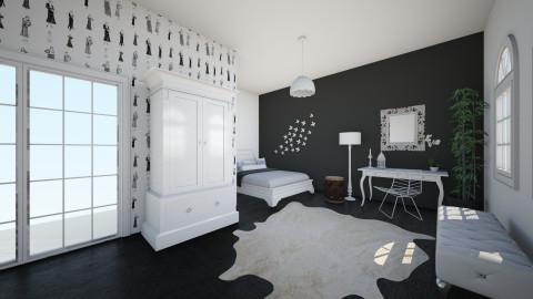xxx - Modern - Bedroom - by amberxx