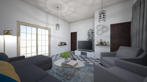 Mine Current - Living room  - by KatherineEvaInteriors