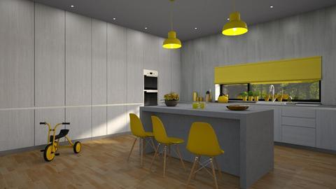 Pantone 2021 - Modern - Kitchen  - by Claudia Correia