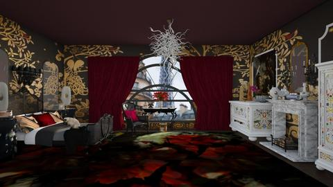 Paris Max - Eclectic - Bedroom - by kitty