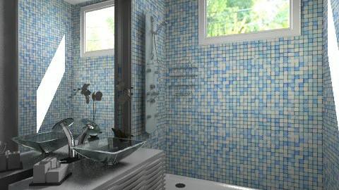 gran house bathroom - Modern - Bathroom  - by Maria_Julia