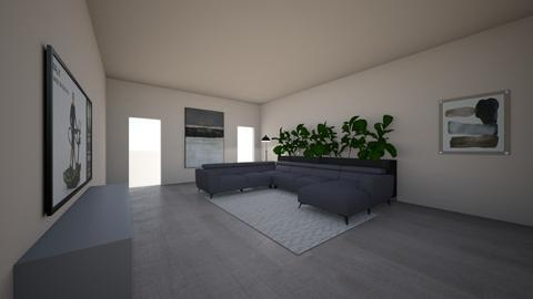 Positive Space - Modern - Living room  - by CarliShelton11