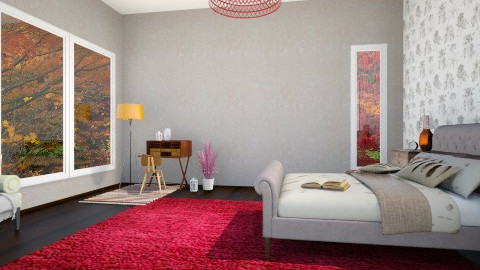 autumn - Bedroom - by Rose Marie