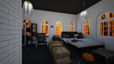 Halloween Room - Modern - Bedroom  - by designer408340284
