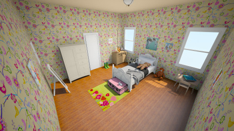 Lil girls room - Bedroom - by Abi Patterson
