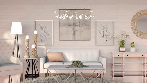 White - Living room - by CatsFurLife