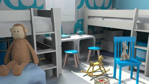 pinguino - Modern - Kids room  - by catcarla