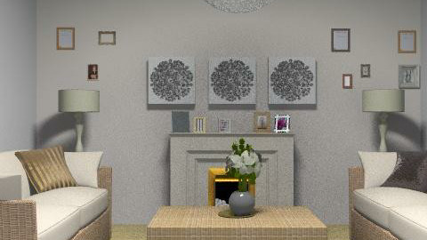 Earthy - Glamour - Living room - by gigglepot