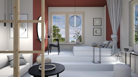 Japandi tiny home - by Designer1007