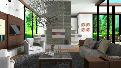 YOO - Eclectic - Living room  - by channing4