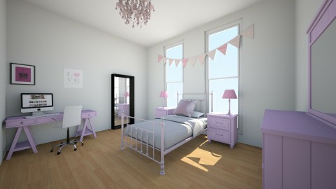 Pretty in pink - Kids room - by Cora_da_B0ss