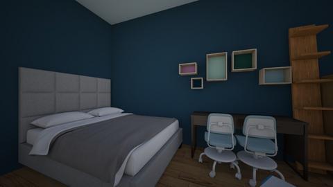 bilik kakak 2 edited - Kids room  - by onatt