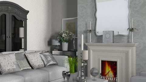 Stylish Lounge - Glamour - Living room  - by yasemin04