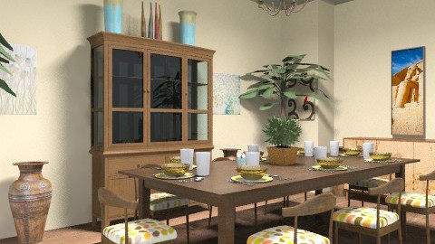 DH Dining Room - Dining room - by gocello