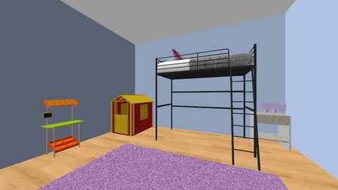 The girls new rooms - Kids room  - by T_Nelz