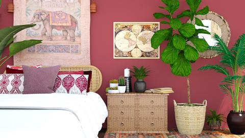 explorer red - Global - Bedroom  - by Happyspaniel