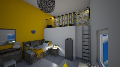 Bedroom with chill nook - Bedroom  - by Noa Jones
