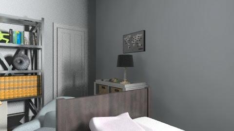 Blue bedroom  - Classic - Bedroom - by Agnieszka11