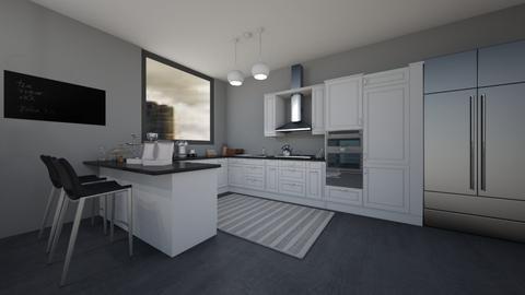 black - Kitchen  - by rukayye