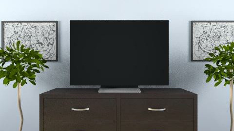Nice TV - Living room - by tatertot0514
