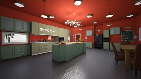 Kitchen  - by CamGrace