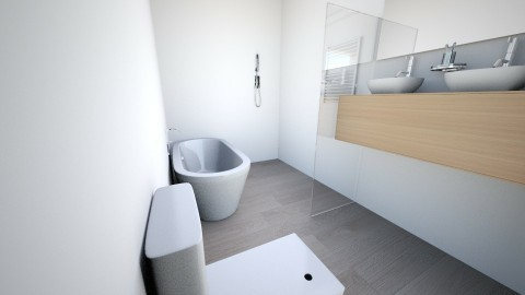 My bathroom home - Minimal - Bathroom  - by Neus Costa Selma