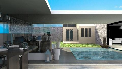 Poolhouse - Modern - Garden  - by StienAerts