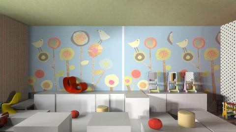 Kids Korner - Eclectic - Kids room  - by Camerian Daniel