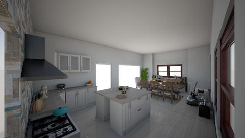 New Kitchen - Country - Kitchen  - by Sharon77