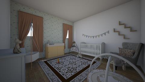 wooden nursery - Kids room - by lalalandan