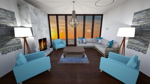 Beach Vibes - Rustic - Living room  - by rlav2