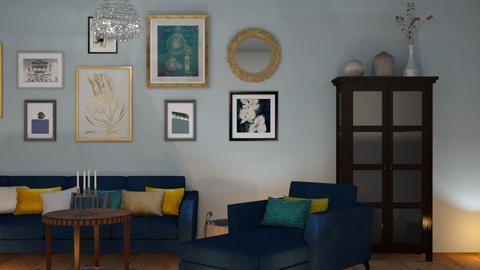Living1 - Living room  - by mikaelahs