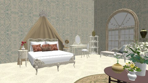 valdora - Vintage - Bedroom  - by Ukulele