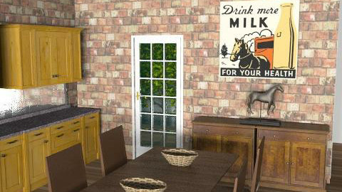 Toison kitchen dining - Eclectic - Kitchen  - by cleyenne