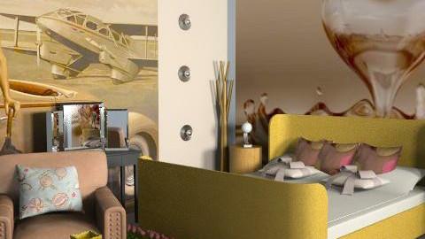 o - Retro - Bedroom  - by FRANKHAM